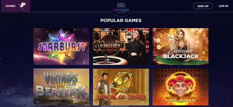 genesis_casino_popular_games_starburst_exclusive_blackjack_vikings_go_berzerk