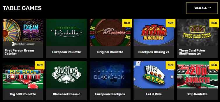 hyper_casino_table_games_first_person_dream_catcher_european_roulette_three_card_poker_shufflemaster